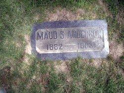 Maud Rebecca <i>Symons</i> Anderson