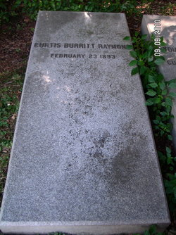 Maj Curtis Burritt Raymond