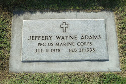 PFC Jeffrey Wayne Adams