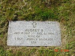 Audrey B Andrade