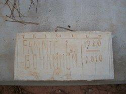 Fannie C <i>Hutchenson</i> Bohannon