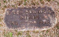 Sgt Horace Augustus Sitton