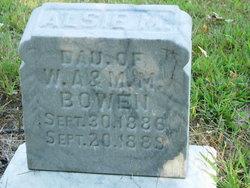 Alsie M Bowen