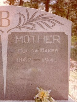 Hulda Henriette <i>Knuth</i> Baker