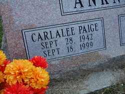 Carlalee Paige <i>Stansell</i> Ankney