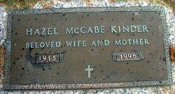 Hazel <i>McCabe</i> Kinder