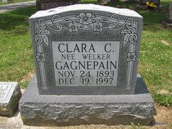 Clara Catherine <i>Welker</i> Gagnepain