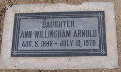 Ann Willingham Arnold