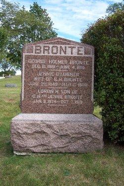 Jane Jennie <i>Daubner</i> Bronte