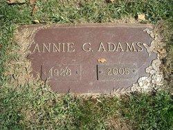 Annie Gertrude <i>Roberts</i> Adams