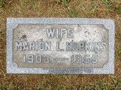 Marion L. Hopkins