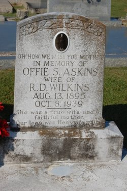Offie S. <i>Askins</i> Wilkins