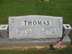 Ruble O Thomas