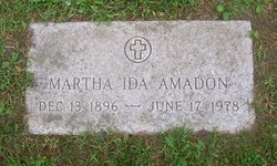 Martha Ida <i>Leschner</i> Amadon
