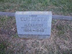 Emma Elizabeth Alexander