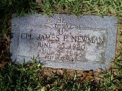 Corp James Edward Jim Newman