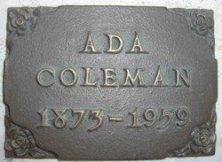 Ada I. Coleman