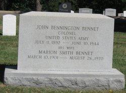 Marion <i>Smith</i> Bennet