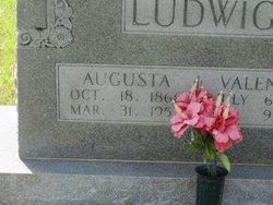 Augusta <i>Voelkel</i> Ludwig