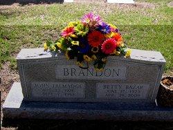 Betty Edith <i>Bazar</i> Brandon