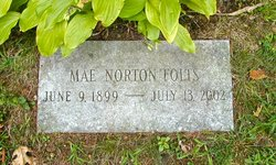 Lula Mae <i>Norton</i> Folts