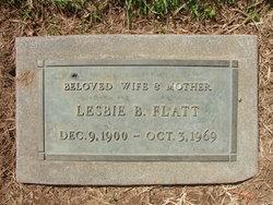 Lesbie Bell <i>Odom</i> Flatt