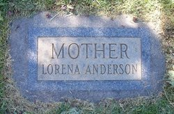Lorena Ridges <i>Wood</i> Anderson