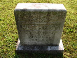 Mary Lydia <i>Wassom</i> Matheny