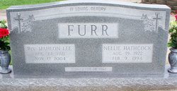 Nellie <i>Hathcock</i> Furr