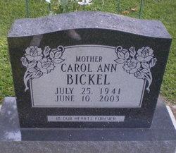 Carol Ann Bickel