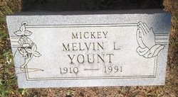 Melvin L Mickey Yount