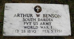 Arthur W Benson