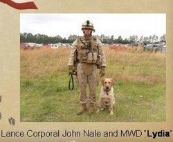 Lydia (MWD) Dog