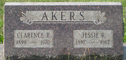 Jessie Ray <i>Miller</i> Akers