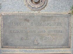 Judith E Stalnaker
