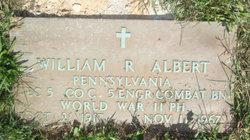 William R Albert