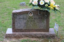 Mable M <i>Wallace</i> Alden