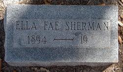 Ella Fae <i>Collins</i> Sherman