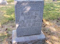 Mary Louise <i>Howland</i> Davis