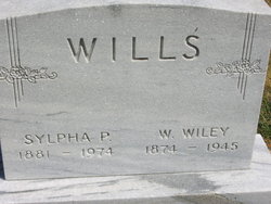 Sylpha P <i>Marshall</i> Wills