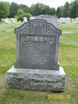 Effie D. <i>Bowen</i> Gallup