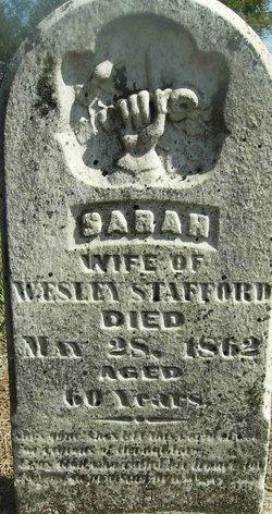 Sarah <i>Corbin</i> Stafford