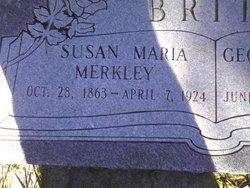 Susan Maria <i>Merkley</i> Britt