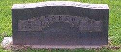 Sallie Elizabeth <i>Lamb</i> Baker