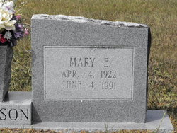 Mary Easter <i>Burdett</i> Harrelson