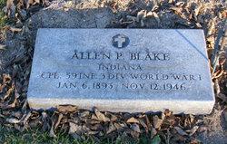Allen P Blake