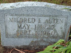 Mildred E Auten