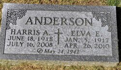Elva E <i>Bainbridge</i> Anderson