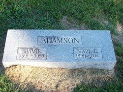 Cora B Mamie <i>Masters</i> Adamson