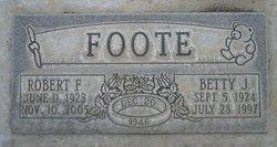 Robert 'Bob' <i>Frank</i> Foote